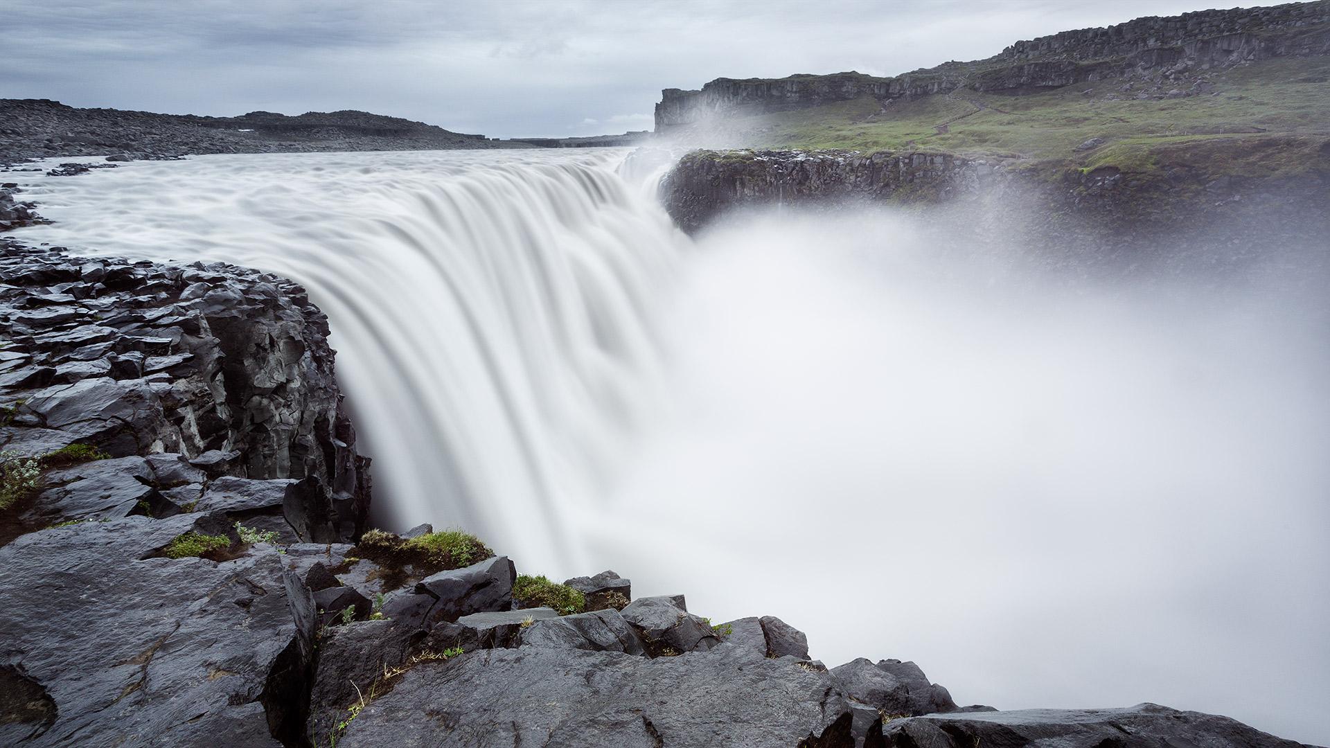 Detifoss. Iceland