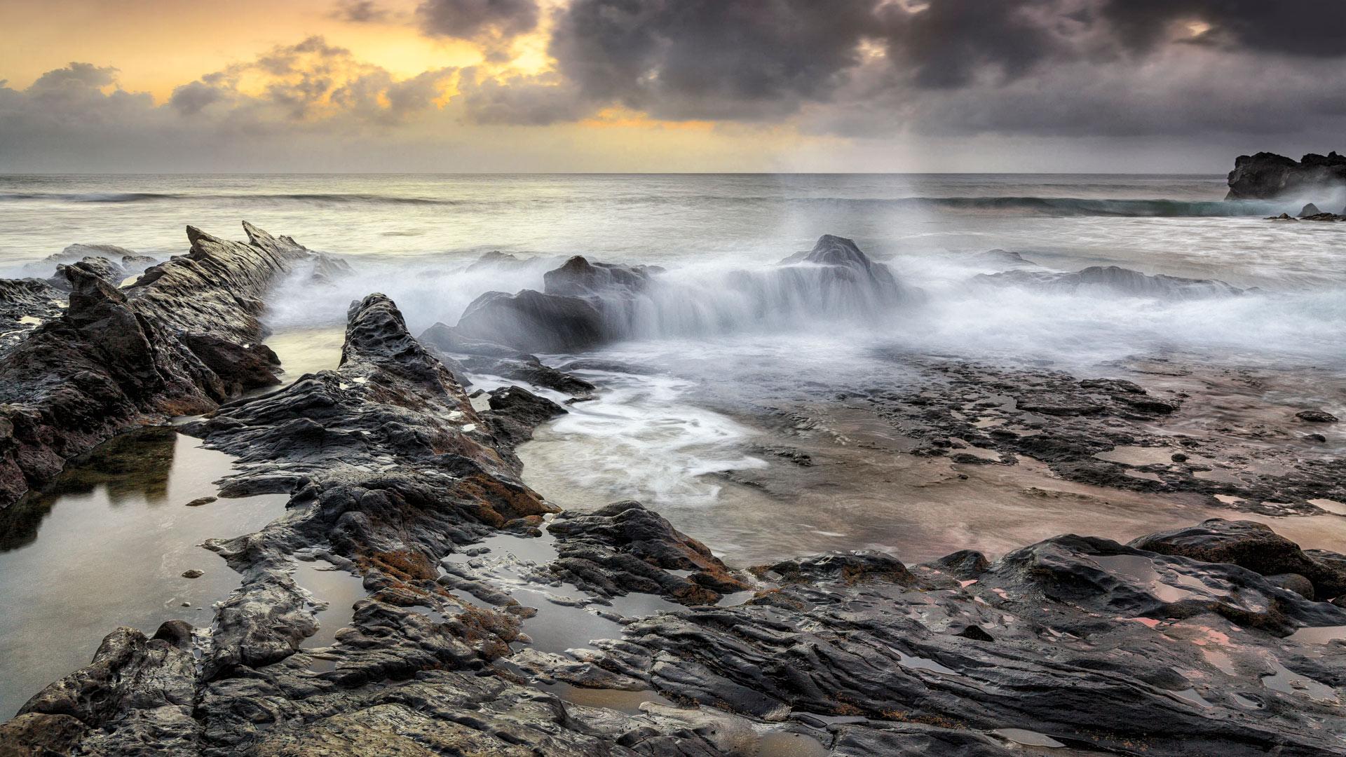 El Golfo. Lanzarote, Spain