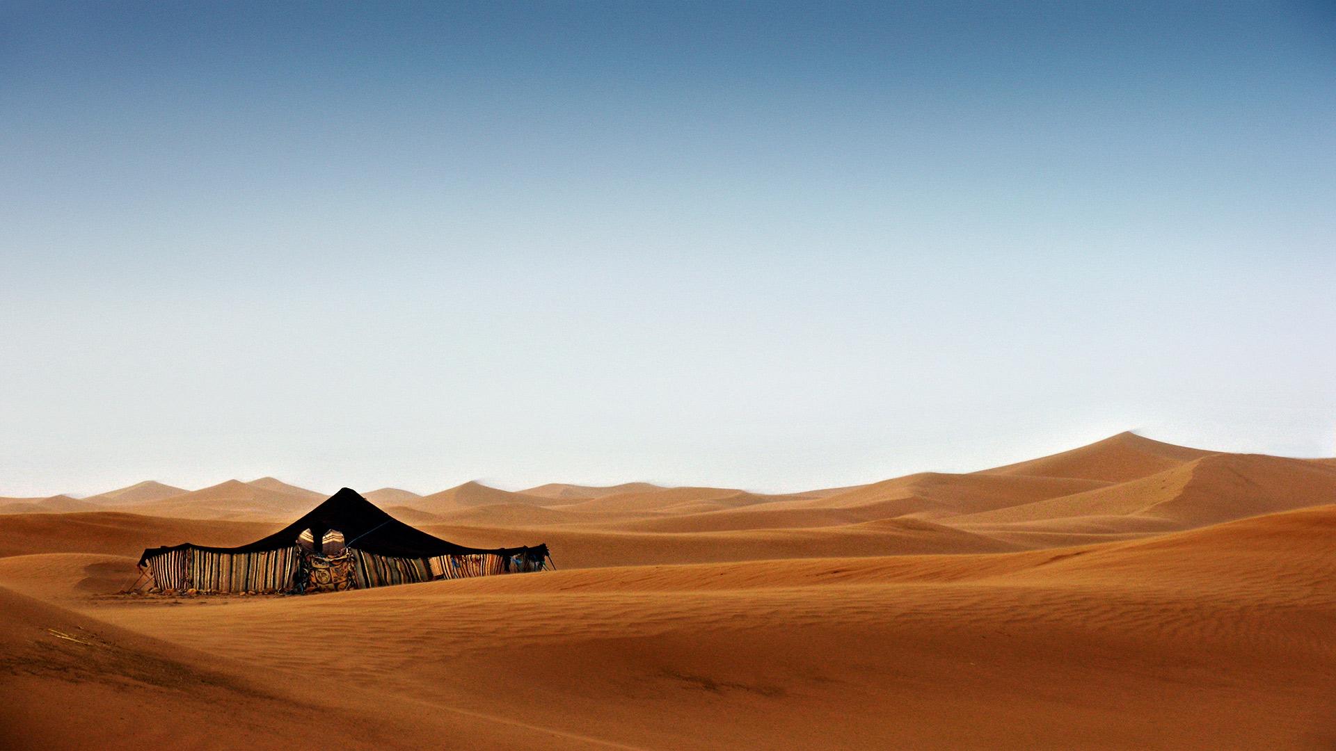 M´Hamid. Morocco