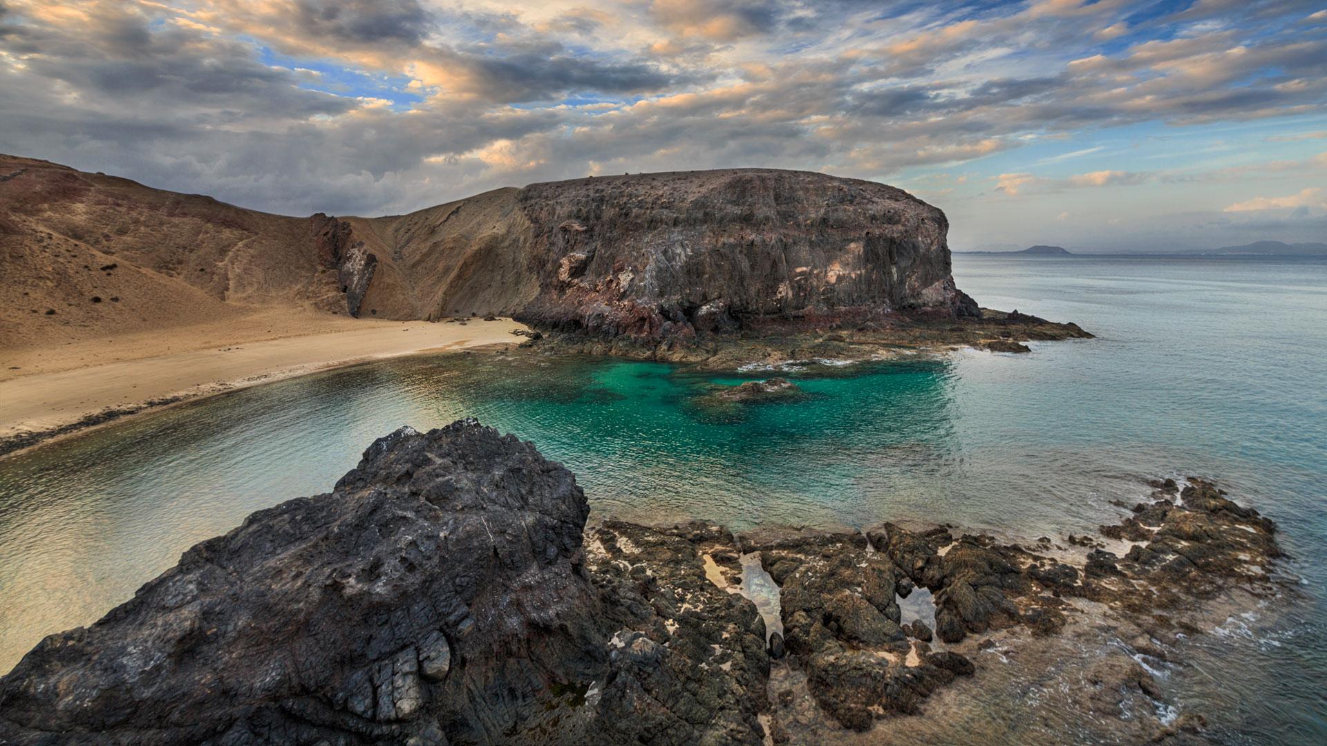 Punta del Papagayo. Lanzarote, Spain
