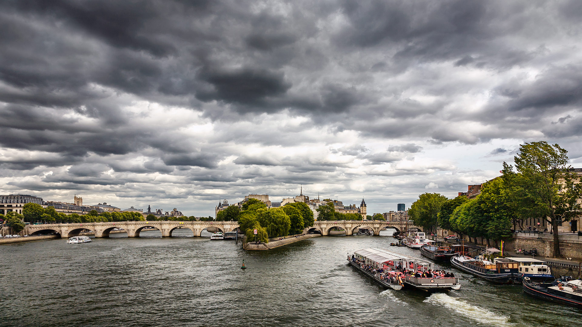 Seine. Paris, France